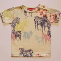 Flamingos & Dominoes tee