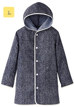 KIDS Uniqlo Undercover Rain Coat grey