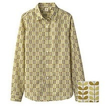 Orla Kiely for Uniqlo shirt