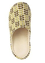 Orla Kiely for Uniqlo slippers