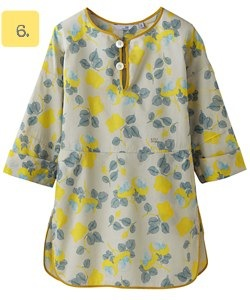 Uniqlo Undercover floral tunic for women