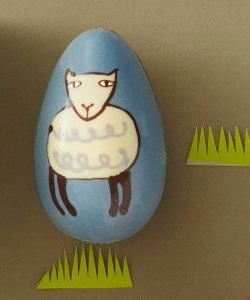 Rococo Lamb Easter Egg by Donna Wilson
