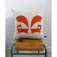 Howkapow Fox cushion