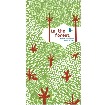 In The Forest pop-up book by Anouck Boisrobert and Louis Rigaud
