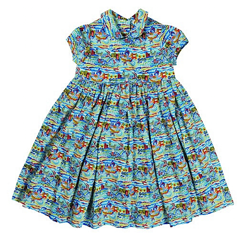 The London Liberty print dress by Millie Manu