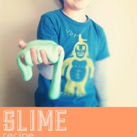 Homemade Slime Recipe