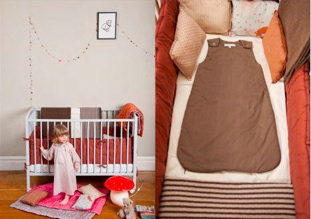 Caramel Baby & Child earthy toned childrens bedding