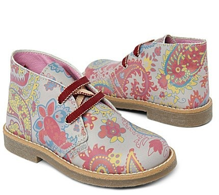 Hippy boots 3-7 years - STEP2WO by Charlotte Church for The British Heart Foundation