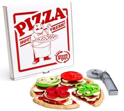 Pretend Play Sandwich Shop & Pizza Parlour Sets by Green Toys