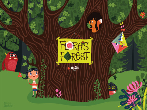 floras forest ipad book