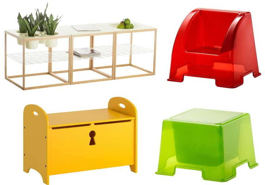 Ikea Children Storage Play Furniture