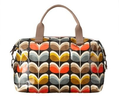 Orla Kiely shadow stem weekend bag