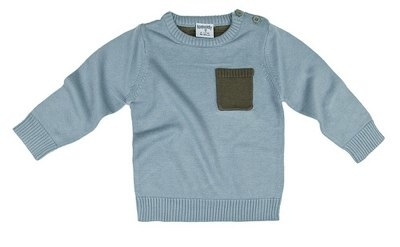 Bamboo Baby Pocket Watch Jumper Size 2-3 Years