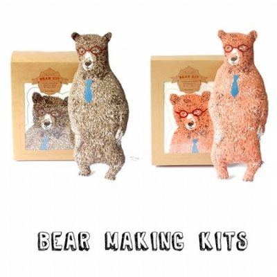Sian Zeng Bear Making Kit & Woodlands Wallpaper