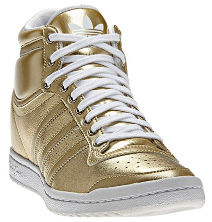 Adidas Top Ten Hi Sleek Heel Shoes