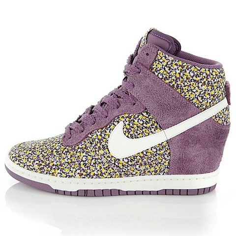 Nike x Liberty Dunk Sky High Liberty Print Trainers