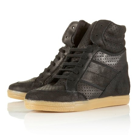 Topshop Aerobic Wedge Heel Trainers