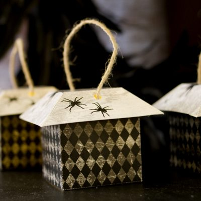Last-minute Halloween: Paper and Cake lantern printable