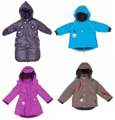 Mini A Ture Coats at Yellow Lolly