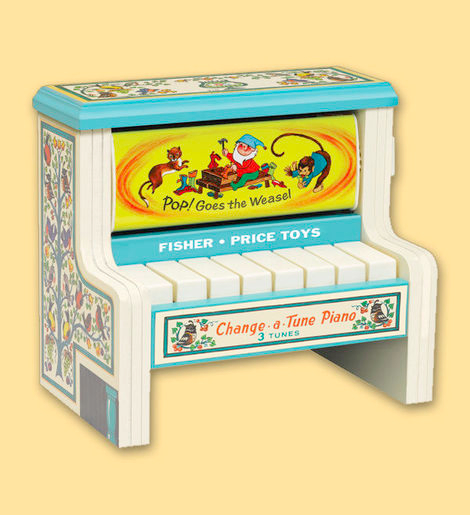 Fisher Price Change A Tune Piano