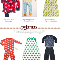 Bambino Goodies Christmas Gift Guide 2102: pjs feature