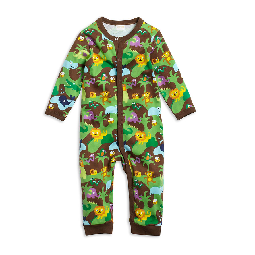 Lindex jungle babygro