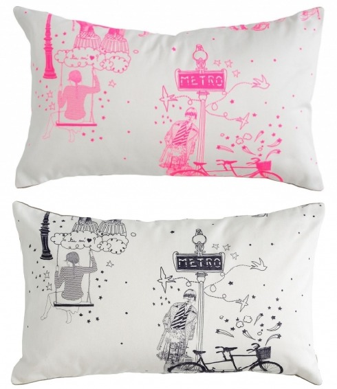 Cushion - Toile de Jouy