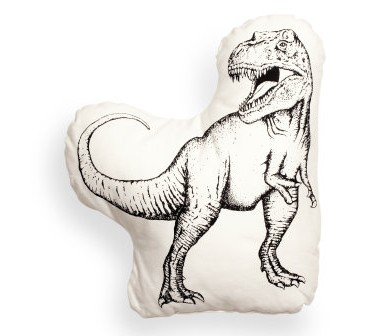Hot on the high street: H&M dinosaur cushion