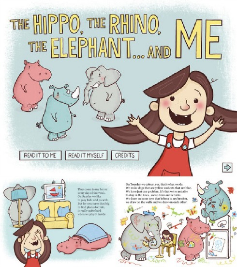 The Hippo, The Rhino, The Elephant and Me