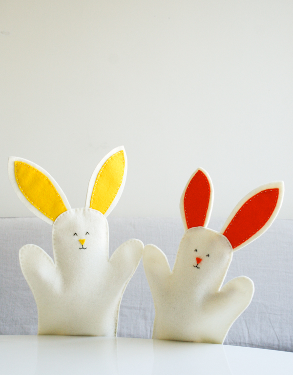 DIY Easter Puppet, The Purlbee