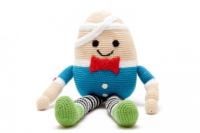 Pebble crochet Humpty Dumpty, £28, Toucan Kids
