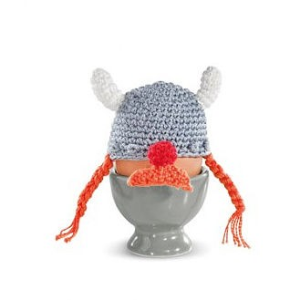 Hand-crocheted viking egg cosy, €8.95, Donkey Products