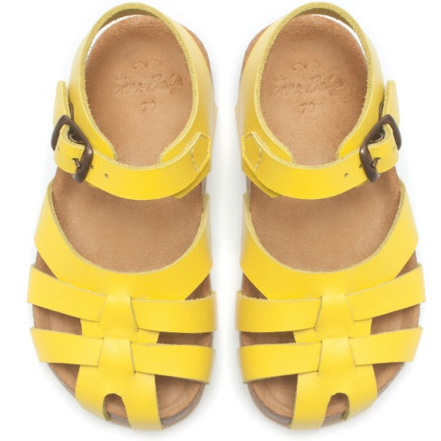 Yellow Zara Sandals