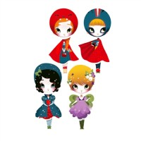 Dress Up Dolls in up to eight designs from £40 for four