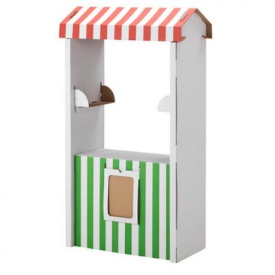 Hot buy: Cardboard marketstand for £10!