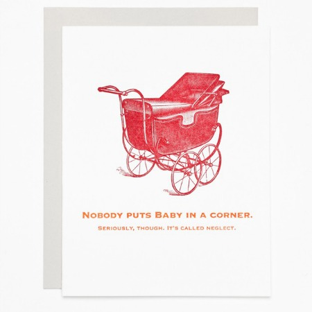 Nobody puts baby in a corner, Sycamore Street Press.