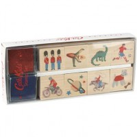 Hot on the high street: Cath Kidston stamp set