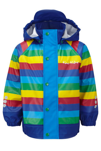KoziKidz rain jacket, £37.99, Snow + Rock