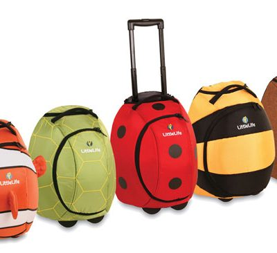 LittleLife animal wheelie suitcase