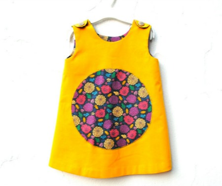 Sewn Natural - Yellow Dress