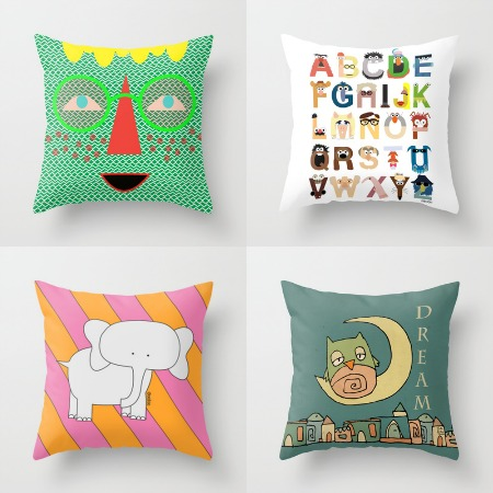 Society6 - Cushions iPads Pillows Prints