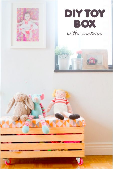 make your own toy box plans