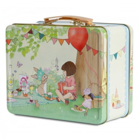 Lunch tin, £10, Belle & Boo