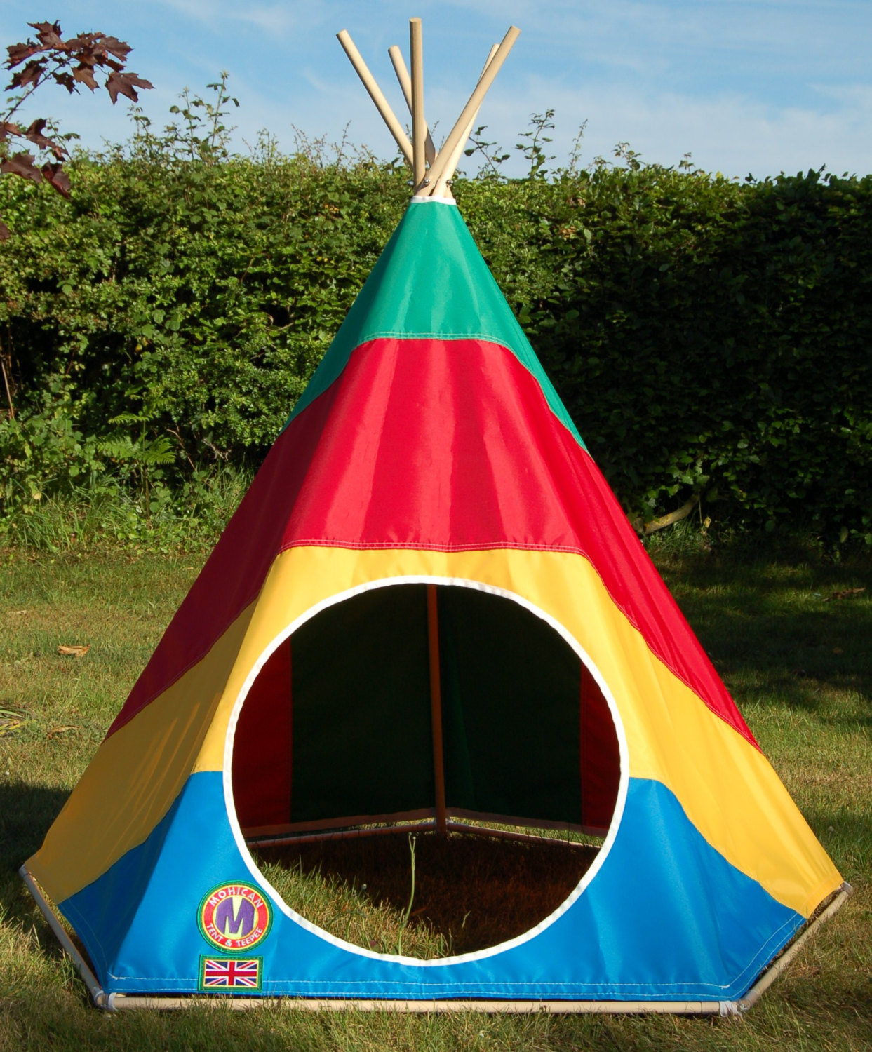 & The Mohican teepees
