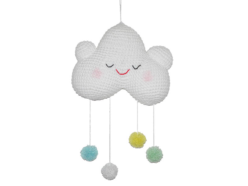 2 Cute 2 Be True Happy Baby Cloud mobile