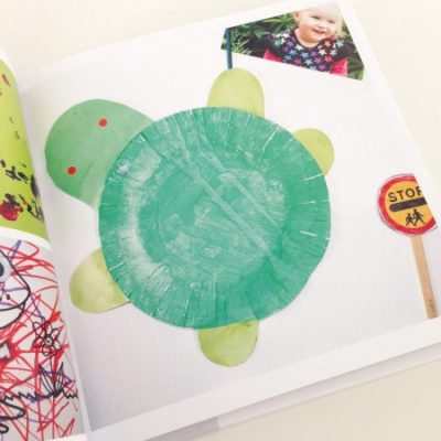 Make Your Own: Photobook of your child's artwork