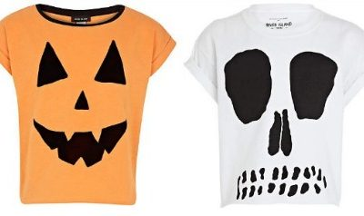 Hot on the high street: River Island Halloween tees