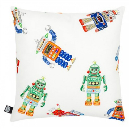 Robot cushion from My Shiny Shop