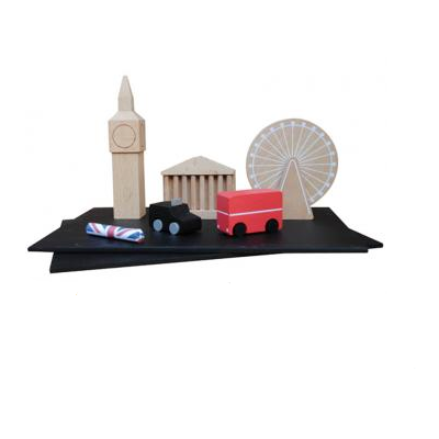 Machi London magnet set