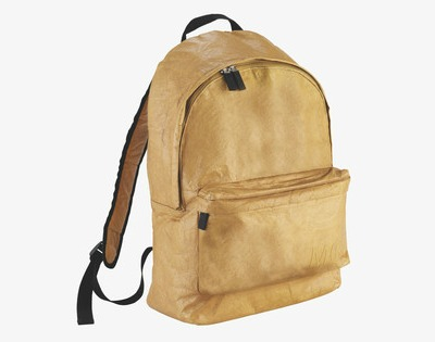 Tyvek  brown backpack